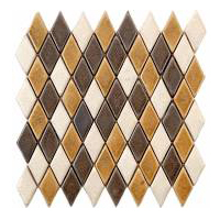 Geometric deco ceramic tile for kitchen