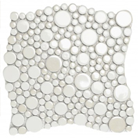 Stars decorative accent tile