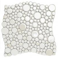 Stars decorative accent tile
