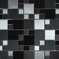 Matrix decorative accent tile