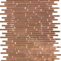 Copper decorative accent tile