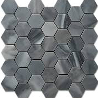 Honeycomb grey natural stone tile for kitchen