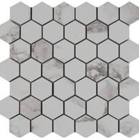 Hexagon style porcelain tile for kitchen