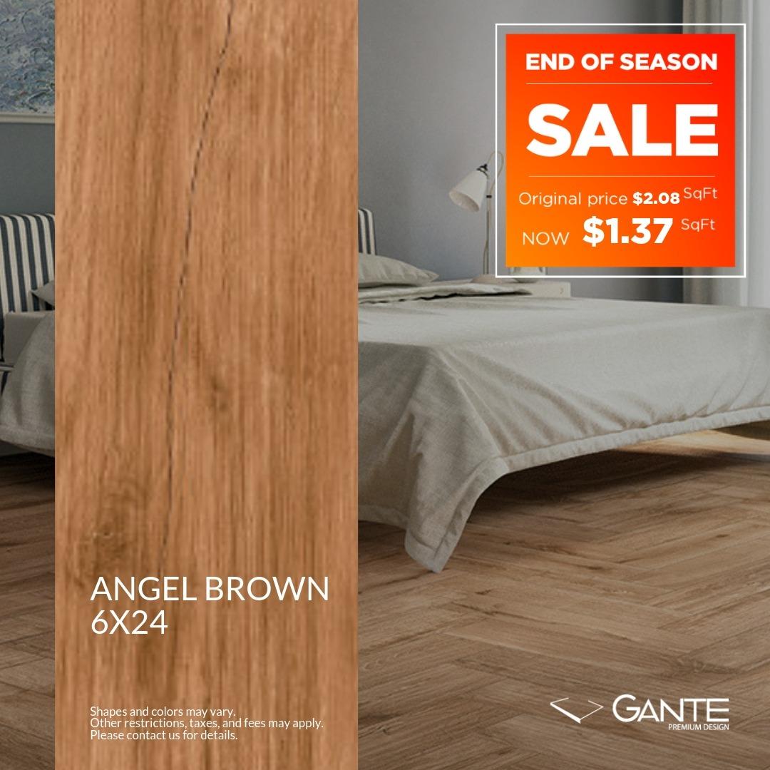 Special Offer - GANTE - Angel Brown (Valid Till: June 30, 2019)