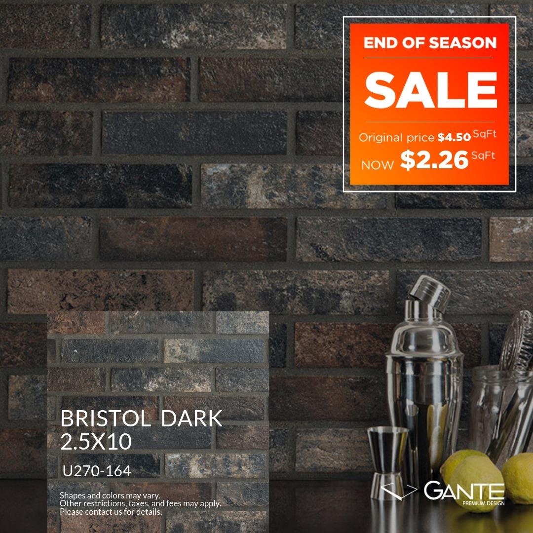 Special Offer - GANTE - Bristol Dark (Valid Till: June 30, 2019)