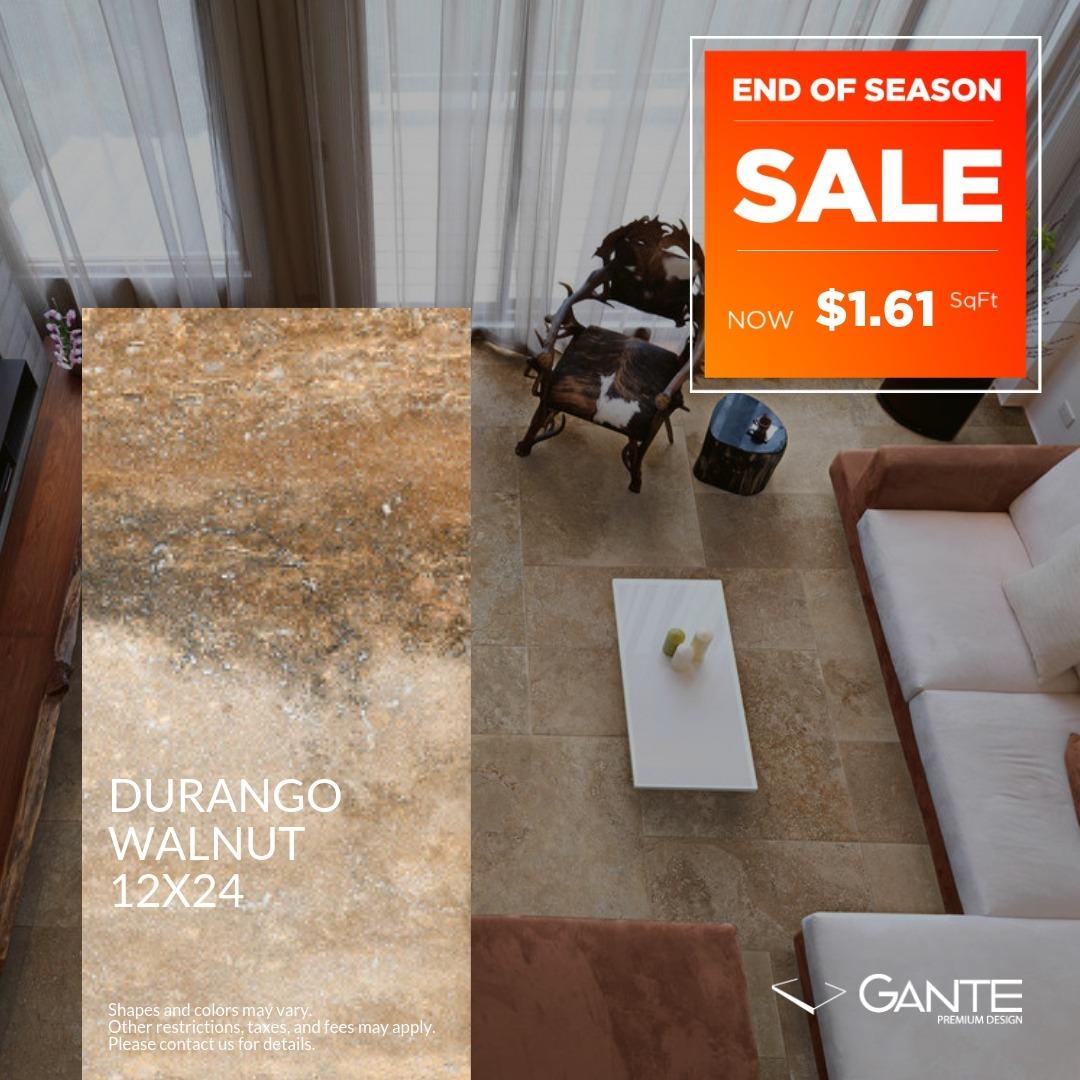 Special Offer - GANTE - Durango Walnut (Valid Till: June 30, 2019)