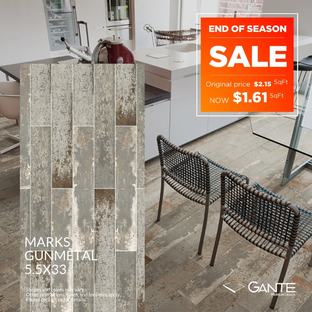 Special Offer - GANTE - Marks Gunmetal (Valid Till: April 30, 2019)