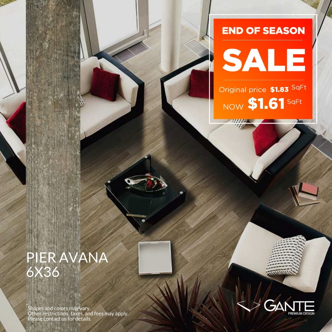 Special Offer - GANTE - Pier Avana (Valid Till: April 30, 2019)
