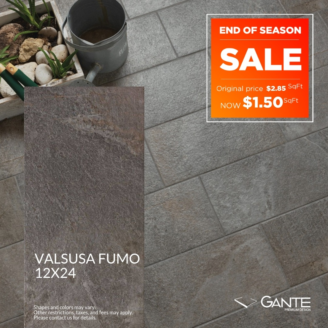 Special Offer - GANTE - Valsusa Fumo (Valid Till: June 30, 2019)