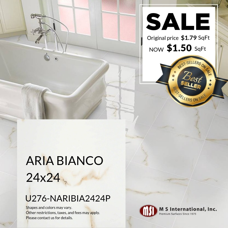 Best-Sellers ON SALE - Aria Bianco (Valid Till: May 30, 2019)