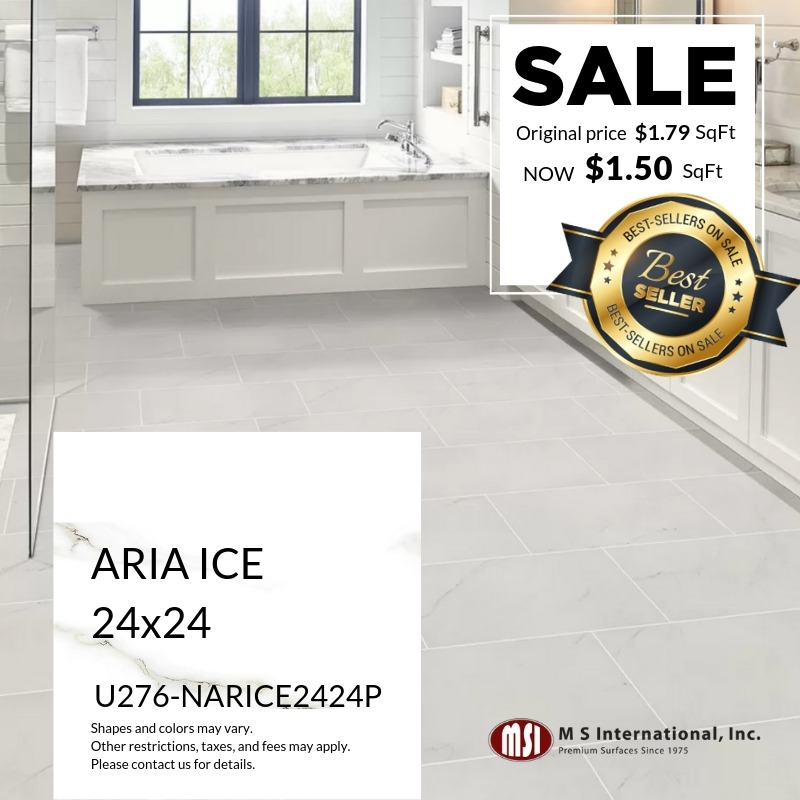Best-Sellers ON SALE - Aria Ice (Valid Till: May 30, 2019)