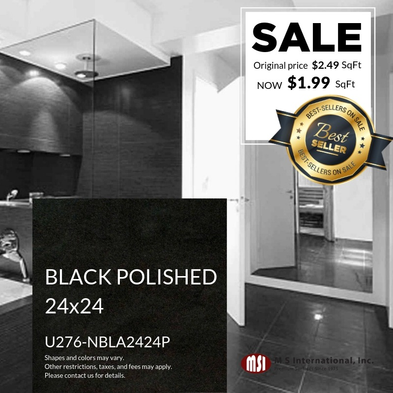 Best-Sellers ON SALE - Black Polished (Valid Till: May 30, 2019)