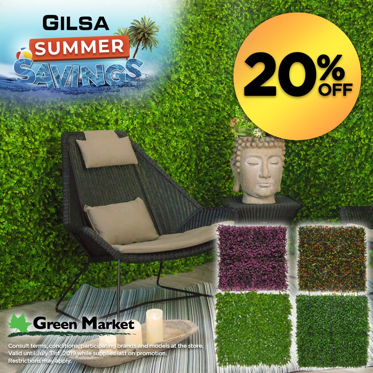 Green Market (Valid Till: July 31, 2019)